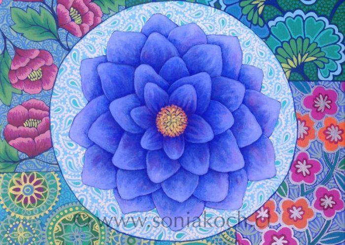 """Sonia Koch, expone """"Mandalas florales"""" en Nueva York"""