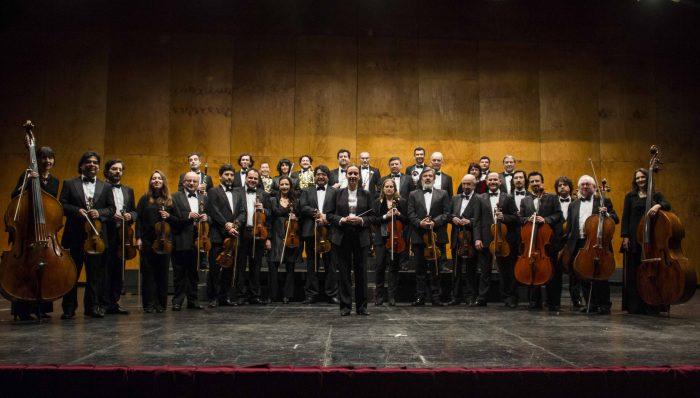 Concierto de la Orquesta de Cámara de Chile en Teatro Oriente, 12 de mayo