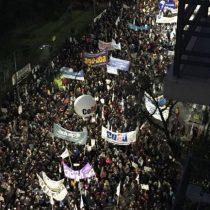 [VIDEO] Inicio de movilizaciones: Universidades estatales protestan contra 'el ajuste' en Argentina