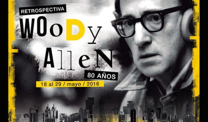 Retrospectiva de Woody Allen en Sala de cine UC, del 18 al 29 de mayo