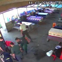 [VIDEO] Brutal agresión de gendarmes a reos en cárcel de Chillán