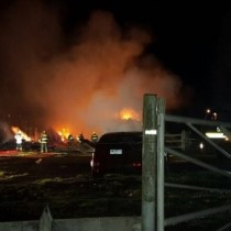 Nuevo ataque incendiario en La Araucanía afecta una vivienda y un cobertizo