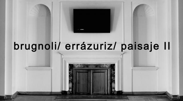 """Exposición """"brugnoli / errázuriz / paisaje II"""" en Instituto Italiano de Cultura, del 13 mayo al 17 junio"""