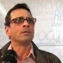 [En Vivo] Henrique Capriles entrega detalles de manifestación opositora a favor de revocatorio