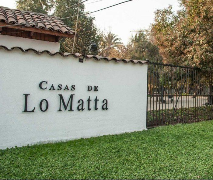 Recorridos guiados al Monumento Nacional Casas de Lo Matta en el Día del Patrimonio, 29 de Mayo. Actividad gratuita
