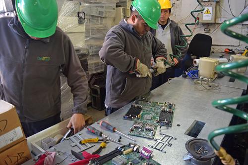 Cinco comunas alcanzan acuerdo para el reciclaje de desechos electrónicos