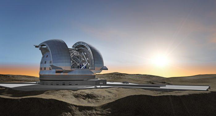 Firman contrato para la construcción en Chile del telescopio óptico más grande del mundo