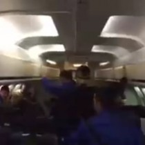[VIDEO] La festiva celebración de Everton en el avión luego del partido frente a Puerto Montt