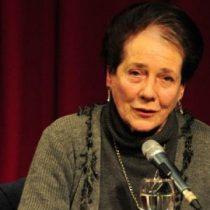 Mónica Echeverría lanza libro en el que denuncia a los que dejaron los ideales libertarios por la práctica neoliberal
