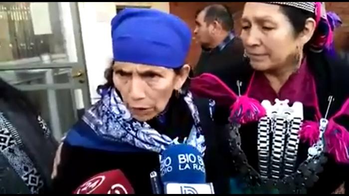 Machi Linconao responde a cuestionamientos por viaje a Bolivia: