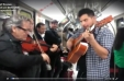 [VIDEO] La música de Game of Thrones se toma el Metro de Santiago
