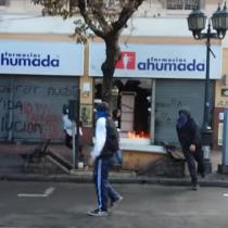 [VIDEO] Así empezó el incendio que provocó la muerte de Eduardo Lara en Valparaíso