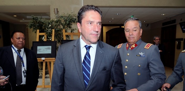 """Ministro Gómez y Generalgate: """"Hay que separar los temas individuales con lo que es la institución"""""""