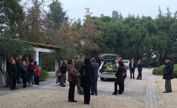 Familia y amigos despiden a Margot Honecker