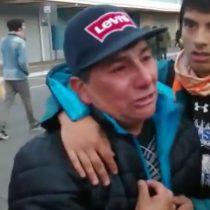 [VIDEO] El doloroso testimonio de un pescador ante las palabras de las autoridades: