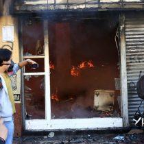 Diputados UDI rechazan actos de violencia en Valparaíso y estudian presentar querella