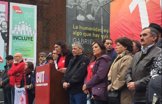 CUT llama al gobierno a insistir con modificaciones a la reforma laboral y critica fuertemente a la derecha por recurrir al TC
