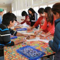 Centro Cultural Gaudí celebra Día del Patrimonio Cultural con elaboración de un gran mosaicocomunitario, 29 de mayo