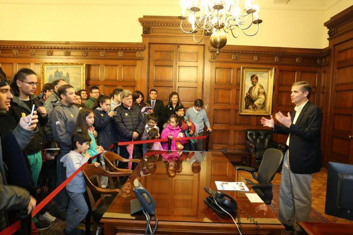 Alrededor de 2.000 personas visitaron el Banco Central en el Día del Patrimonio Cultural