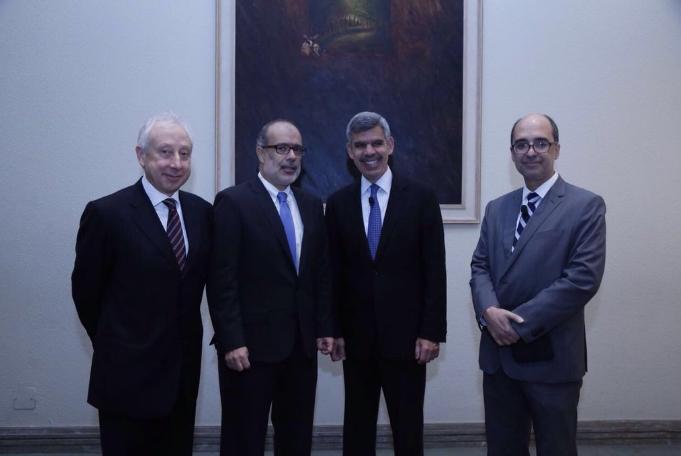 Mohamed A. El-Erian y Rodrigo Valdés encabezaron el seminario Latam Focus de BTG Pactual