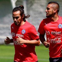 Arturo Vidal extrañará a su amigo Jorge Valdivia en la selección: