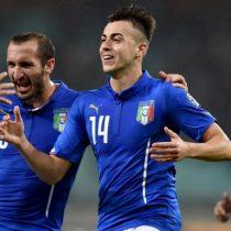 Eurocopa: Italia gana 2-0 a Bélgica