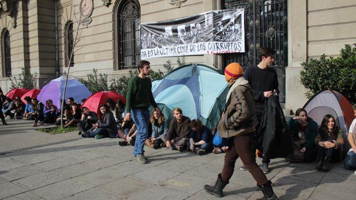 El momento actual: movimiento estudiantil y sentido de comunidad