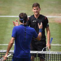 Tenis: Thiem da un golpe de autoridad ante Federer y logra la final