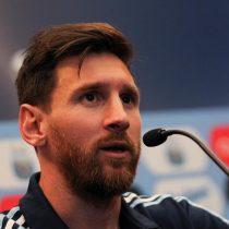 Messi admite que una nueva derrota ante Chile sería una