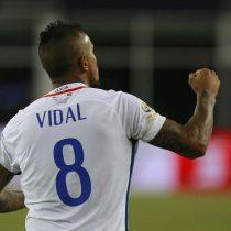 Arturo Vidal y el nivel actual de Chile: