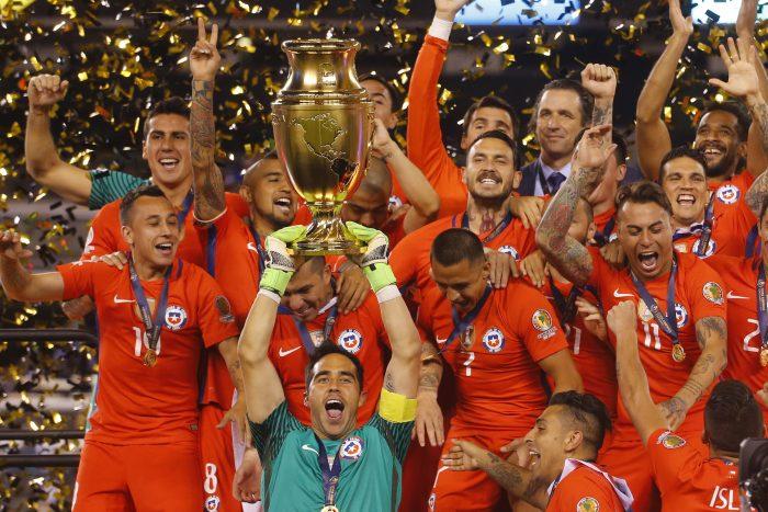 Bicampeones: se cumplen tres años del triunfo de la selección chilena en la Copa América Centenario