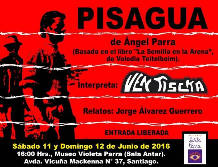 Afiche Pisagua Museo Violeta 2016