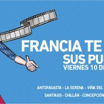 Evento ¡Francia te abre sus puertas! en Instituto Francés de Chile en Santiago y Alianzas Francesas en regiones, 10 de junio. Entrada liberada