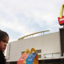Ministra de Salud advierte a McDonald's: