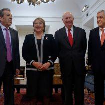 Ex Presidentes se alinean con demanda en contra de Bolivia