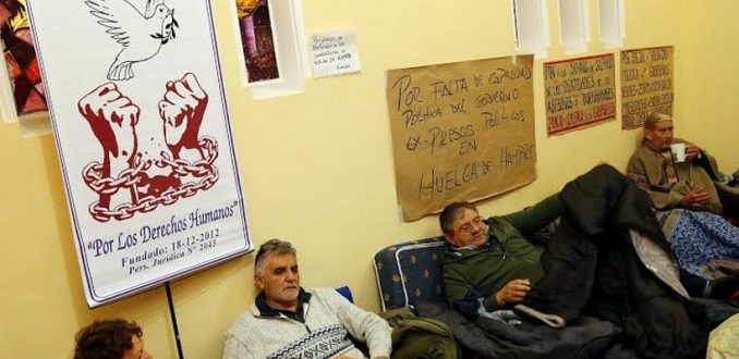 Diputada europea llama a Bachelet a atender demandas de ex presos políticos que están en huelga de hambre