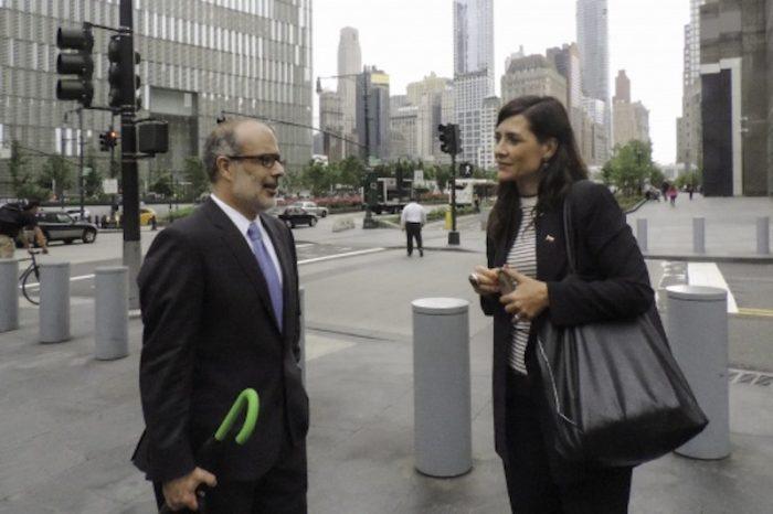 Valdés hace escala no anunciada en Nueva York para reunirse con inversionistas en reuniones agendas por Goldman Sachs y BNP Paribas