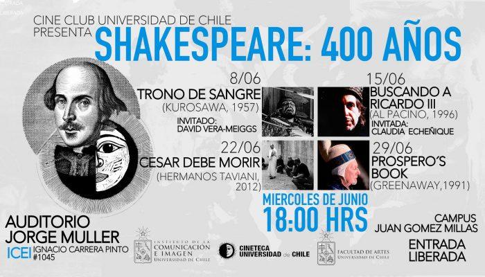 afiche shakespeare