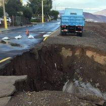 Antofagasta baja la alerta roja por amarilla tras intensas lluvias