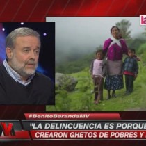 [VIDEO] La dura crítica de Benito Baranda a la desigualdad social