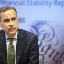 Presidente del Banco de Inglaterra advierte de que el