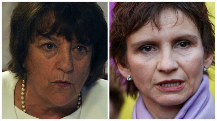 Ministra Delpiano y Carolina Tohá critican tomas de colegios: