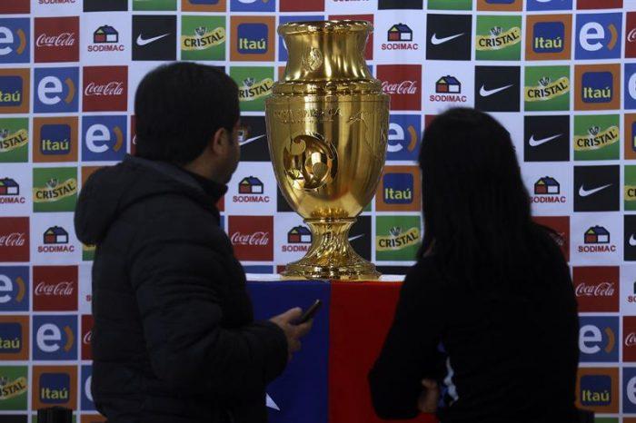 La Copa se mira y se toca, en casa