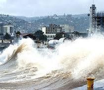 Armada de Chile alerta fuerte viento y marejadas en las costas del litoral central