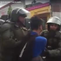 [VIDEO] Detención irregular de Carabineros a estudiantes en marcha pacífica por la educación en Temuco