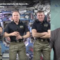 [VIDEO] Histórico: Facebook transmite en vivo por primera vez desde el espacio