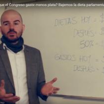 [VIDEO] La receta de Giorgio Jackson para bajar la dieta parlamentaria