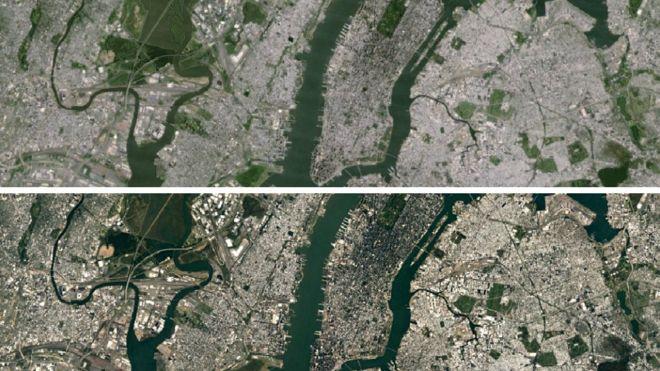 Los nuevos detalles que se pueden ver con la actualización de los mapas satelitales de Google