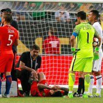 [VIDEO] Nos dejaron con uno menos: así fue la lesión de Pedro Pablo Hernández que lo deja fuera de la final
