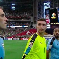 [VIDEO] Tremendo error: colocan himno de Chile en debut de Uruguay en la Copa América